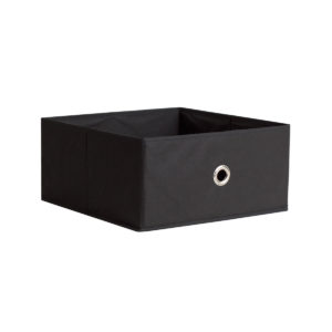 Black Half Fabric Drawer