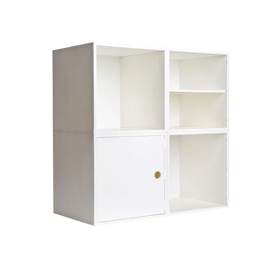 4 Cube Kit with Door and Shelf